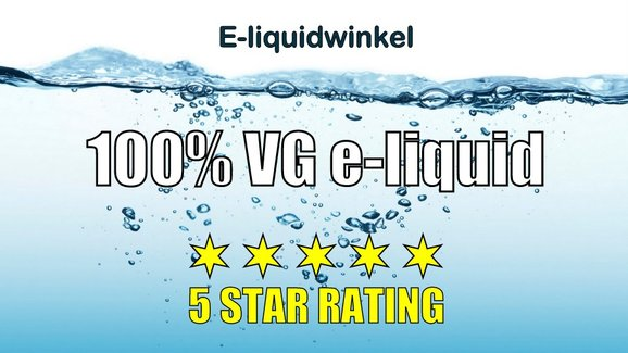 De Beste 100% VG e-liquid | E-liquidwinkel