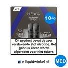 Hexa E-liquid Pod 2.0 Blueberry 10mg