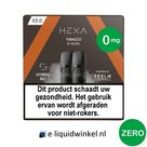 Hexa E-liquid Pod 2.0 Tobacco | 0mg