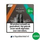 Hexa E-liquid Pod 2.0 Tobacco Menthol | 0mg
