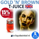 T-Juice Gold 'n' Brown aroma 10ml.