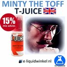 T-Juice Minty The Toff aroma 10ml.