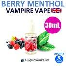 Vampire Vape Berry Menthol aroma 30ml.