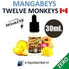 Twelve Monkeys Mangabeys Zero 30ml.