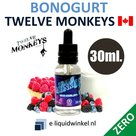 Twelve Monkeys Bonogurt Zero 30ml.