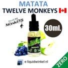 Twelve Monkeys Matata Zero 30ml.