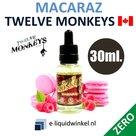 Twelve Monkeys Macaraz Zero 30ml.