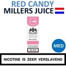 Millers Juice e-liquid Red Candy Medium 10ml.