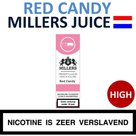 Millers Juice e-liquid Red Candy High 10ml.