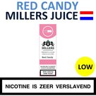 Millers Juice e-liquid Red Candy Low 10ml.