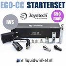 Joyetech eGo-CC Starterset RVS 650mAh