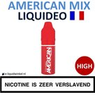 Liquideo E-liquid American Mix High 10ml.