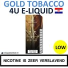 4U E-liquid Gold Tobacco Low