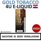 4U E-liquid Gold Tobacco High