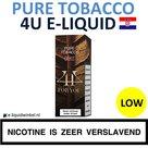4U E-liquid Pure Tobacco Low
