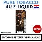 4U E-liquid Pure Tobacco High