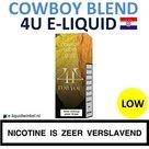 4U E-liquid Cowboy Blend Low