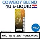 4U E-liquid Cowboy Blend Medium