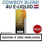 4U E-liquid Cowboy Blend High