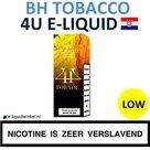 4U E-liquid BH Tobacco (Flue Cured Virginia) Low