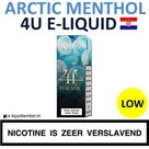 4U E-liquid Arctic Menthol Low