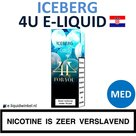 4U E-liquid Iceberg Medium