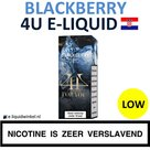 4U E-liquid Blackberry Low