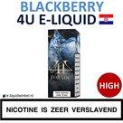 4U E-liquid Blackberry High
