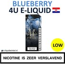 4U E-liquid Blueberry Low