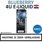 4U E-liquid Blueberry Medium