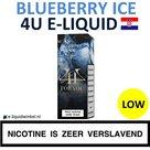 4U E-liquid Blueberry Ice Low