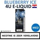 4U E-liquid Blueberry Ice Medium
