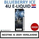 4U E-liquid Blueberry Ice High