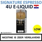 4U E-liquid Signature Espresso Low