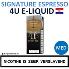 4U E-liquid Signature Espresso Medium