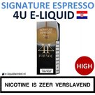 4U E-liquid Signature Espresso High