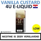 4U E-liquid Vanilla Custard Low