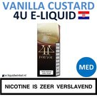 4U E-liquid Vanilla Custard Medium