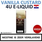 4U E-liquid Vanilla Custard High