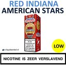 American Stars E-liquid Red Indiana Low