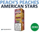 American Stars E-liquid Peach's Peaches Zero