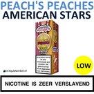 American Stars E-liquid Peach's Peaches Low