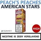 American Stars E-liquid Peach's Peaches High