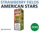 American Stars E-liquid Strawberry Fields Forever Zero
