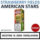 American Stars E-liquid Strawberry Fields Forever High