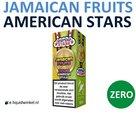 American Stars E-liquid Jamaican Fruits Zero