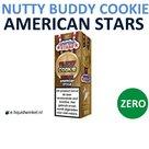 American Stars E-liquid Nutty Buddy Cookie Zero