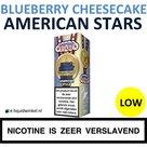 American Stars E-liquid Blueberry Cheesecake Low