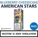 American Stars E-liquid Blueberry Cheesecake Medium