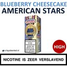 American Stars E-liquid Blueberry Cheesecake High